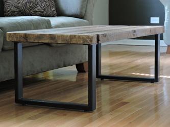 Coffee Table 2x1 Legs Burntrock